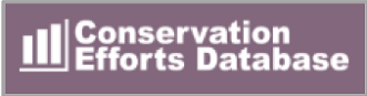 Conservation Efforts Database Logo